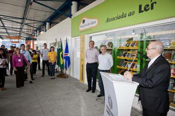 Inauguração da Biblioteca Máquina do Saber